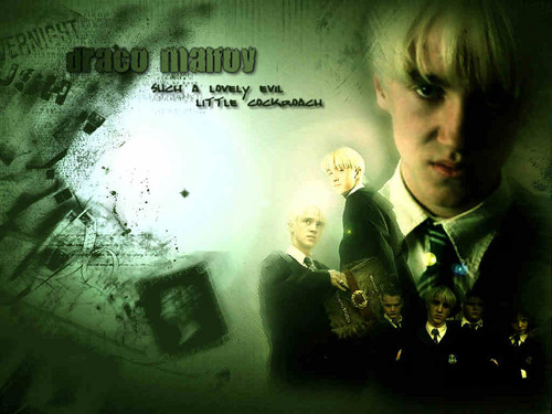 Drago Malfoy karatasi la kupamba ukuta possibly with a business suit titled DracoMalfoy!