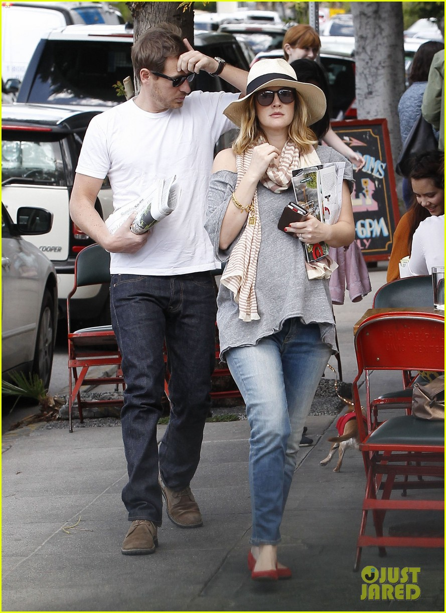 Drew Barrymore & Will Kopelman: Saturday in Silver Lake!