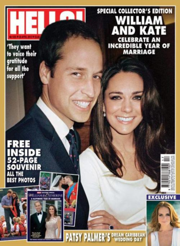 Duchess Catherine and Prince William (One سال Later)