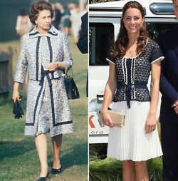 Duchess Catherine And Queen Elizabeth The British Royal