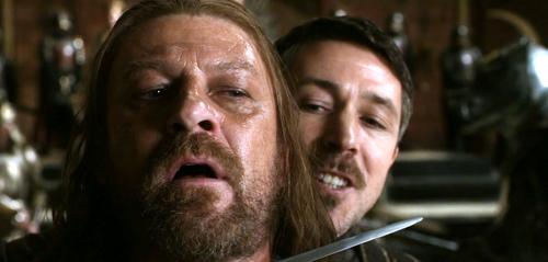 Eddard and Petyr