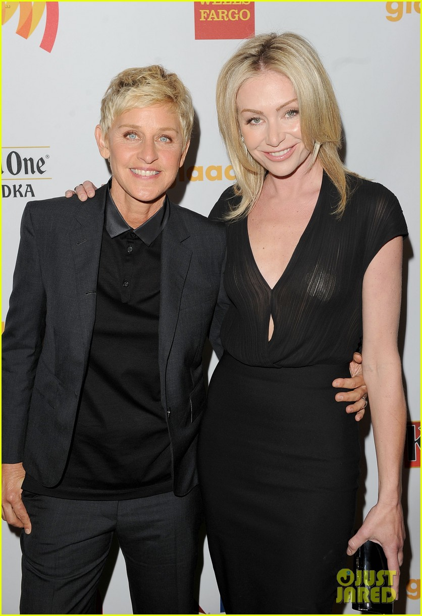 ... DeGeneres Ellen DeGeneres: GLAAD Media Awards with Portia de Rossi