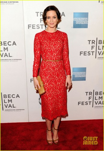 Emily Blunt: 'Your Sister's Sister' Premiere at Tribeca!