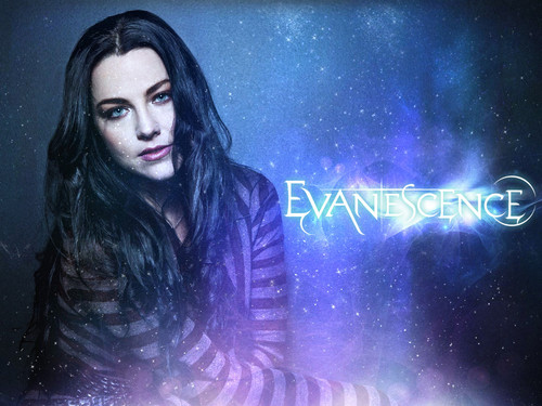 Evanescence wallpaper possibly with a concert and a portrait entitled Evanescence!