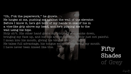 Fifty Shades of Grey - Elevator - fifty-shades-trilogy Wallpaper