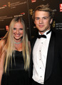 Freddie Stroma and Veronica Dunne