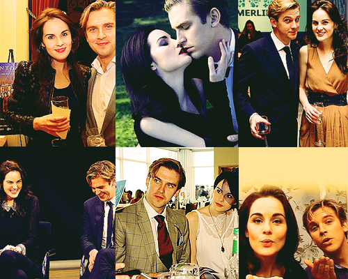 Dan Stevens News, Photos, and Videos   Just Jared  Michelle Dockery And Dan Stevens Married