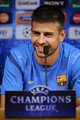 G. Pique (Barcelona press conference) - gerard-pique photo