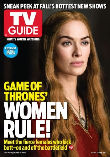 Game of Thrones- TV Guide Cover