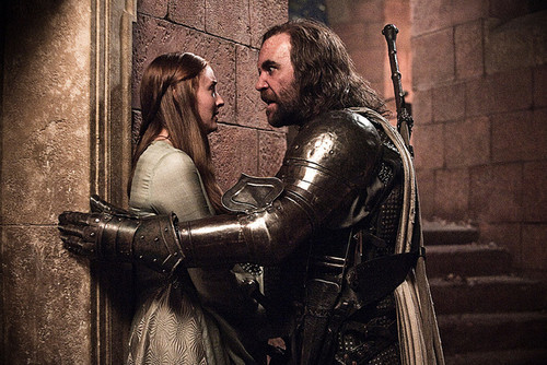 Sandor Clegane & Sansa Stark - game-of-thrones Photo
