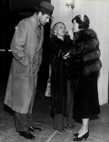 Gary Coooper, Mary Pickford & Countess de Frasso
