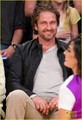 Gerard Butler: Lakers Courtside Tickets! - gerard-butler photo