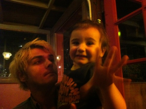 Gerard way's daughter:Bandit~!