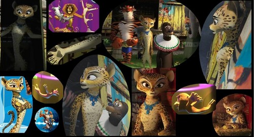 Madagascar 3 wallpaper titled Gia collage