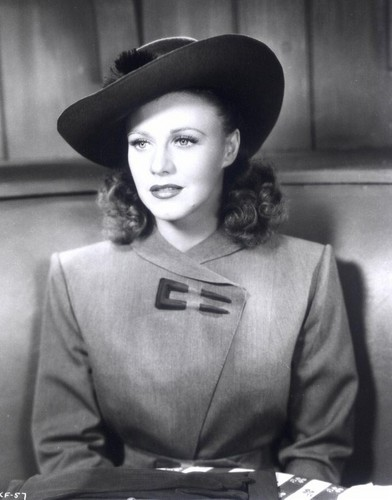 Classic Movies wallpaper containing a fedora, a campaign hat, and a boater titled Ginger Rogers