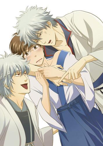 Gintoki & Shinpachi x3