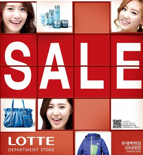 Girls' Generation Lotte
