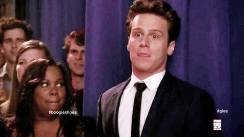 Jesse St. James wallpaper probably with a business suit and a suit entitled Glee - 316 - Saturday Night Glee-ver