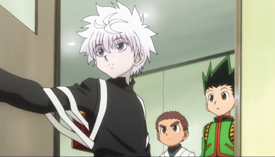 Gon, Killua, and Zushi