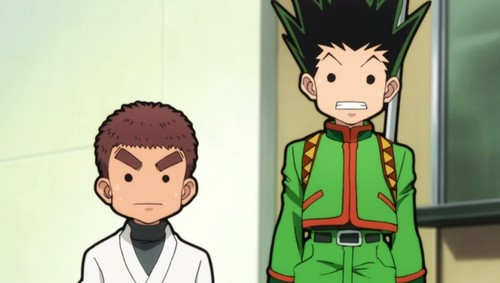 Gon and Zushi