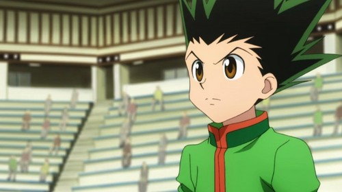 hunter x hunter wallpaper probably containing animê titled Gon