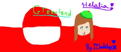 Greenland Hetalia yes I drew this!!