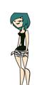 Gwen's new look - total-drama-island fan art