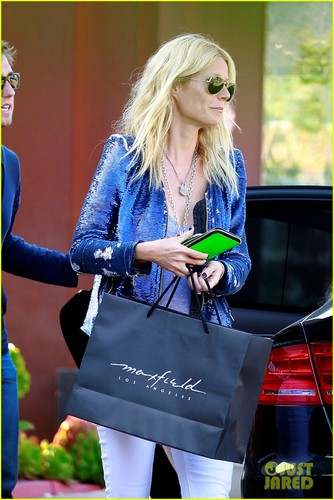 Gwyneth Paltrow: Shopping with appel, apple