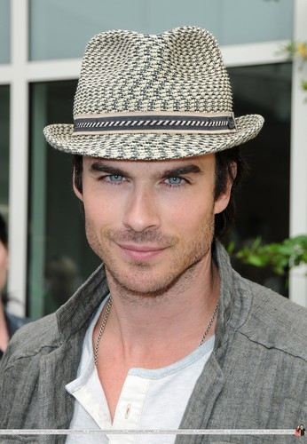 HQ Pics - Ian Somerhalder arrives at Earth Day Celebration on April, 22 - ian-somerhalder Photo