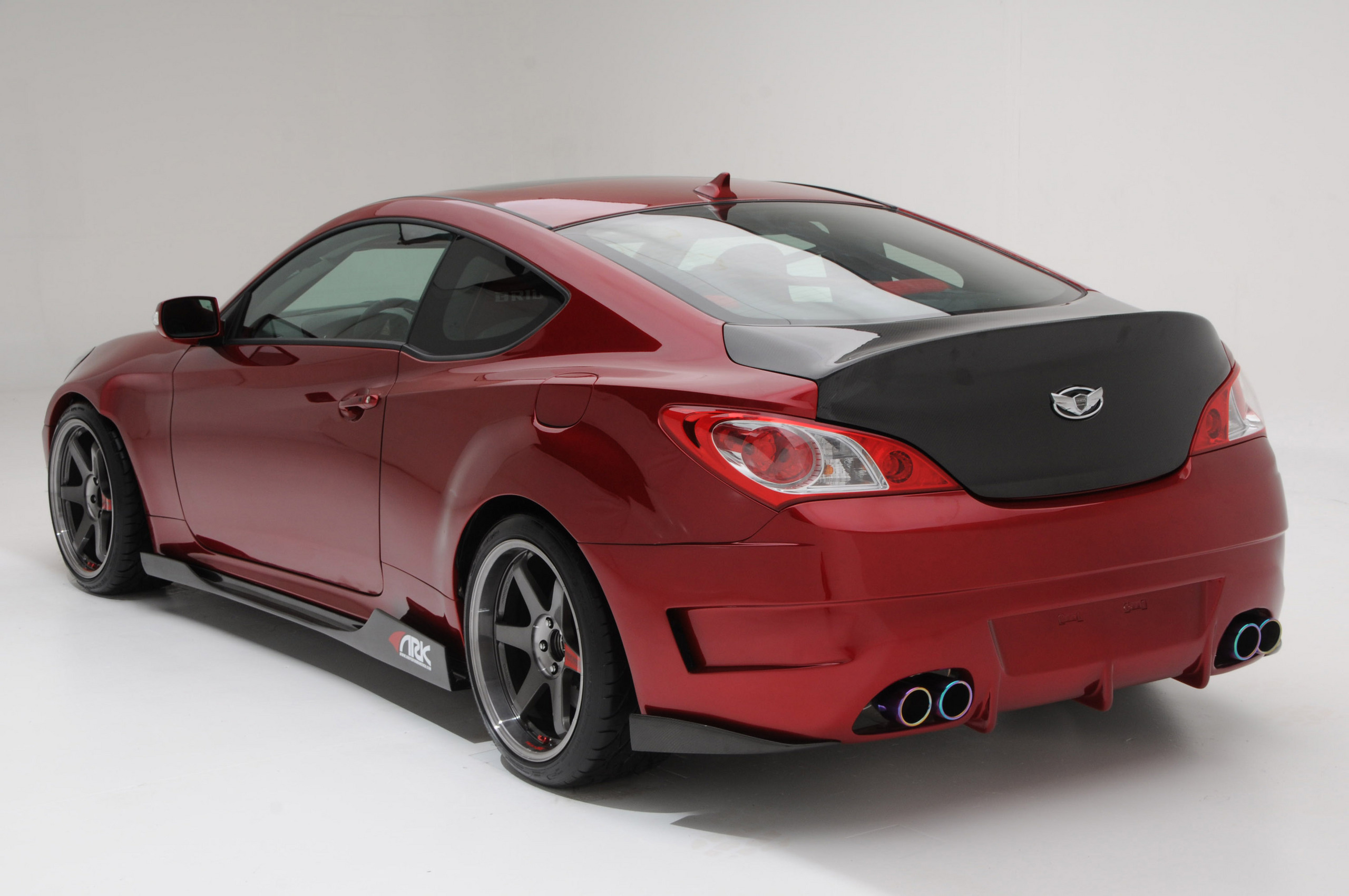 hyundai genesis coupe by ark performance hyundai photo. Black Bedroom Furniture Sets. Home Design Ideas