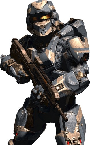 Halo wallpaper containing a rifleman called Halo 4 Spartan 4