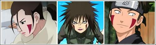 Hana,Tsume and Kiba