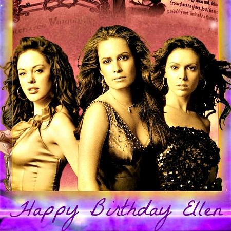 Happy Birthday, my dear Ellen!
