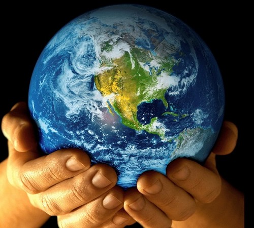 cynthia-selahblue (cynti19) Hintergrund titled Happy Earth Tag Cynti
