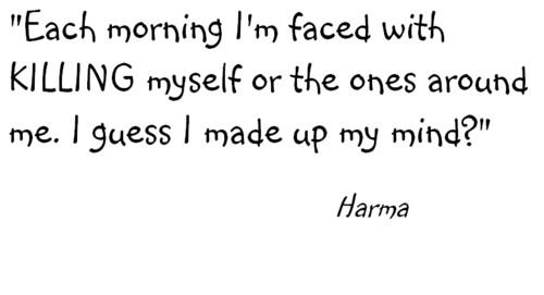 Harma's Quote