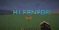 Hello Fanpop! (Minecraft Greeting) - minecraft photo