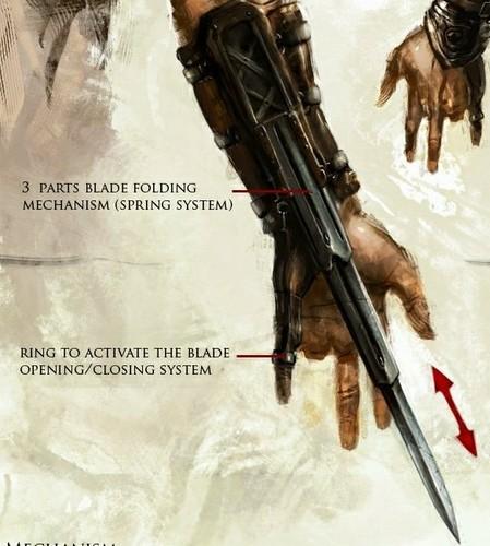 Hidden blade mk 1