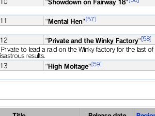 High Moltage episode?