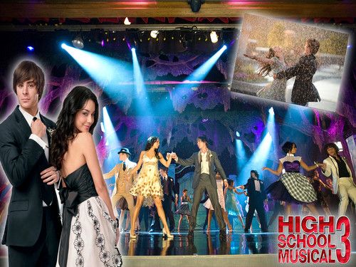 High School Musical fond d'écran possibly containing a concert and a bridesmaid entitled HighSchoolMusical!