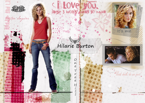 Hilarie Burton wallpaper possibly with a sign entitled HilarieBurton!