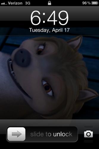 প্রথমপাতা screen on my iPhone!