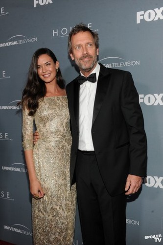 House M.D. wallpaper containing a business suit called House - Series Wrap Party - 20th April 2012