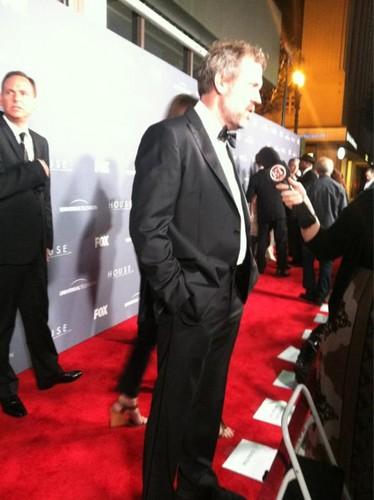 Hugh Laurie (House M.D.)Series ラップ Party - April 20.2012