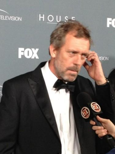 Hugh Laurie (House M.D.)Series заворачивать, обертывание Party - April 20.2012