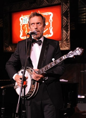 Hugh Laurie bungkus, balut Party - April 20, 2012