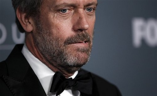 Hugh Laurie wickeln, wickeln sie Party - April 20, 2012