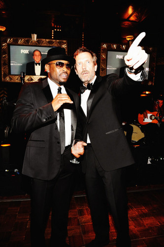 Hugh Laurie and Omar Epps-Wrap Party 20.04.2012