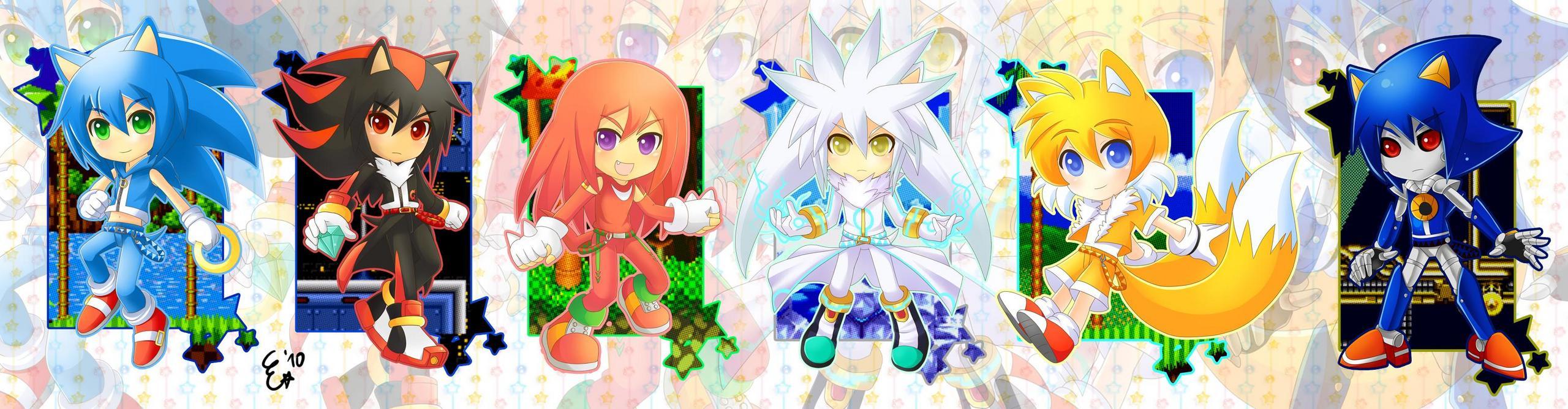 Human Sonic And Co Sonic The Hedgehog Fan Art 30595881 Fanpop