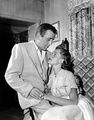 Humphrey Bogart and Lauren Bacall