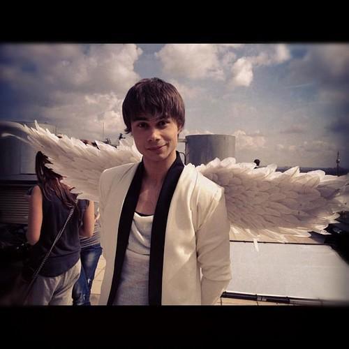 I knew alex was an angel. :D